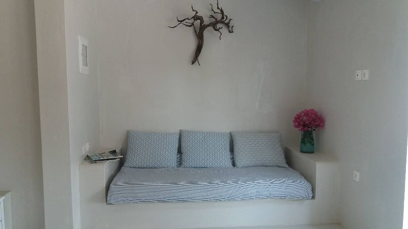 White 1 - Built sofa-bed