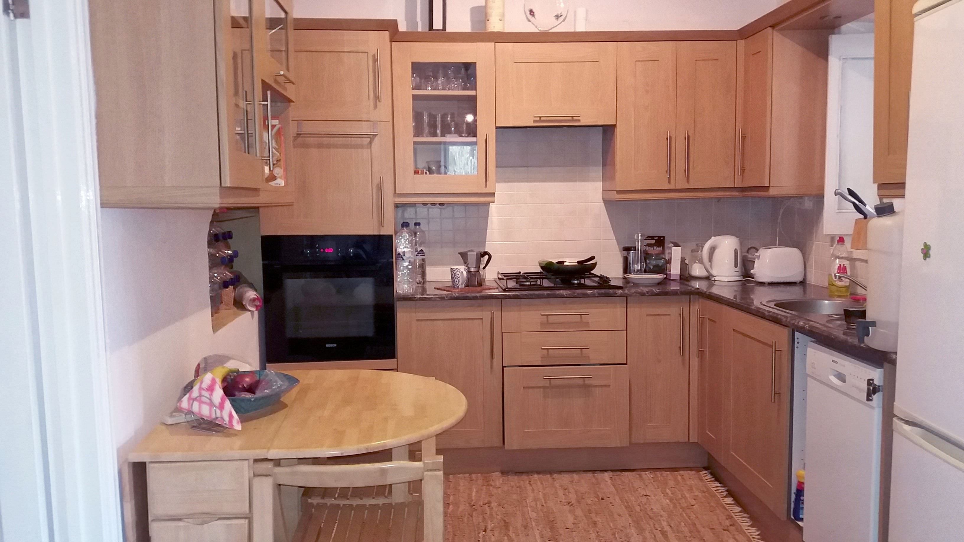 Big, comfortable and fully equipped kitchen